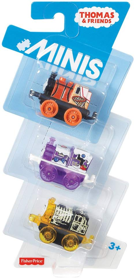 Thomas the Tank Engine ( 3 pack ) Mini's - Assorted